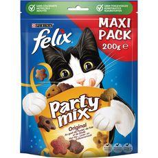 Felix Friandises party mix au poulet foie dinde pour chat 200g