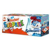 Kinder surprise unisexe x3 -60g