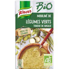 Knorr soupe mouliné légumes verts basilic 1l