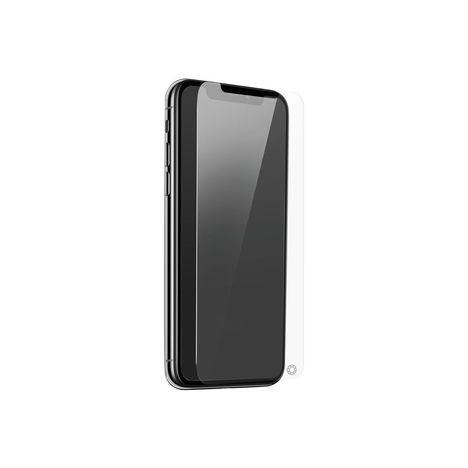 FORCEGLASS Protection d'écran en verre trempé pour iPhone XS MAX
