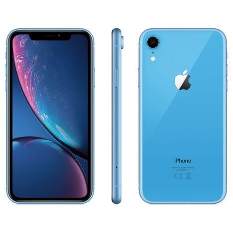 APPLE iPhone - XR - 64 Go - 6.1 pouces - Bleu - 4G