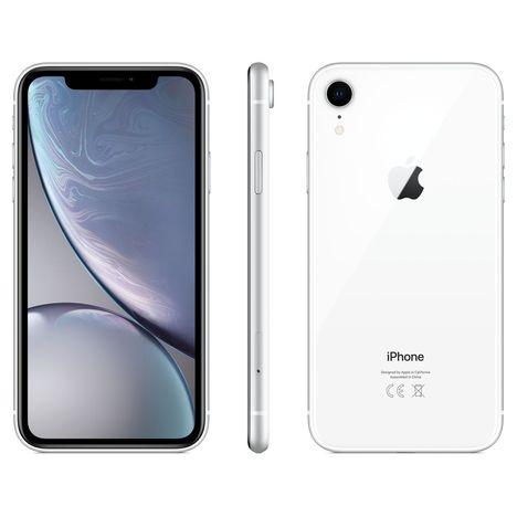 APPLE iPhone - XR - 128 Go - 6.1 pouces - Blanc - 4G