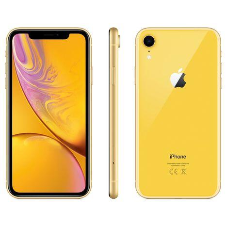 APPLE iPhone - XR - 128 Go - 6.1 pouces - Jaune - 4G