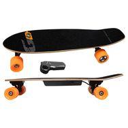 GIRO DRIVE Skateboard électrique Cruiser - Noir et orange