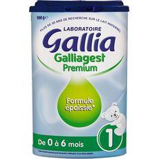 GALLIA Galliagest 1 lait 1er âge en poudre dès la naissance 900g
