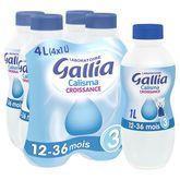 Gallia Calisma croissance 4x1l dès 12 mois