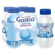 Gallia Calisma croissance 4x500ml dès 12 mois
