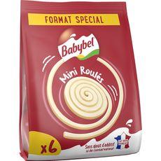 BABYBEL Mini fromages roulés 6 portions 200g