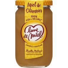 LUNE DE MIEL Miel de citronnier crémeux 375g