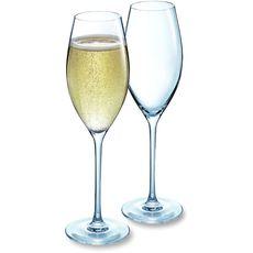 CHEF&SOMMELIER Chef&Sommelier Flûtes à champagne 24cl collector x2 2 pièces