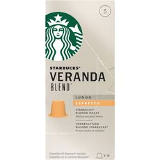 Starbucks arabica veranda blend lungo capsule x10 -55g