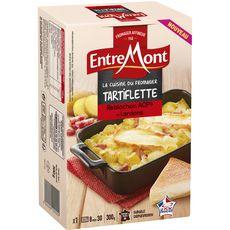 ENTREMONT La cuisine du fromager Tartiflette reblochons AOP et lardons 1 personne  300g