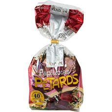 VENDOME Papillotes de chocolats et pâtes de fruits avec une boîte de pétards 40 pièces 370g