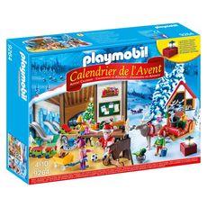 PLAYMOBIL Playmobil Calendrier de l'avent fabrique du père noël - 9264 x1
