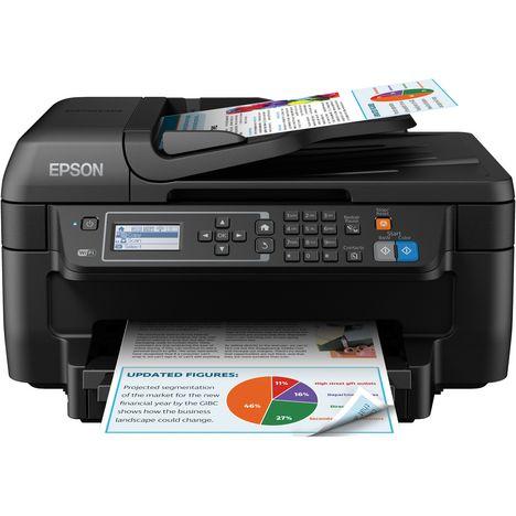 EPSON Imprimante Multifonction - Jet d'encre - WORKFORCE 2750DWF