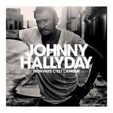 Johnny Hallyday Mon Pays c'est l'Amour cd collector 1 pièce