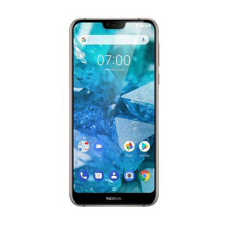 NOKIA Smartphone - 7.1 - 32 Go - 5.8 pouces - Gris - 4G Double SIM