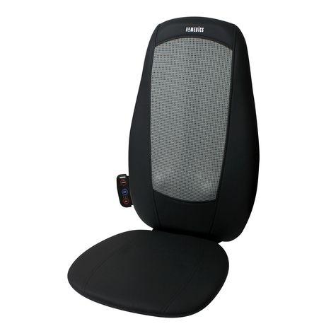 HOMEDICS Siège de massage avec chaleur SBM-179H