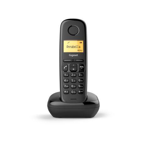 GIGASET Téléphone fixe - A170- Noir