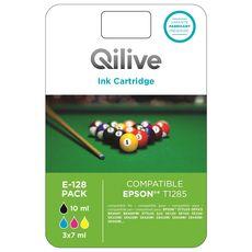 QILIVE Cartouche 4 Couleurs E-1295 PACK
