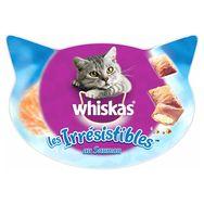 Whiskas Les irrésistibles barquette friandises au saumon pour chat 60g