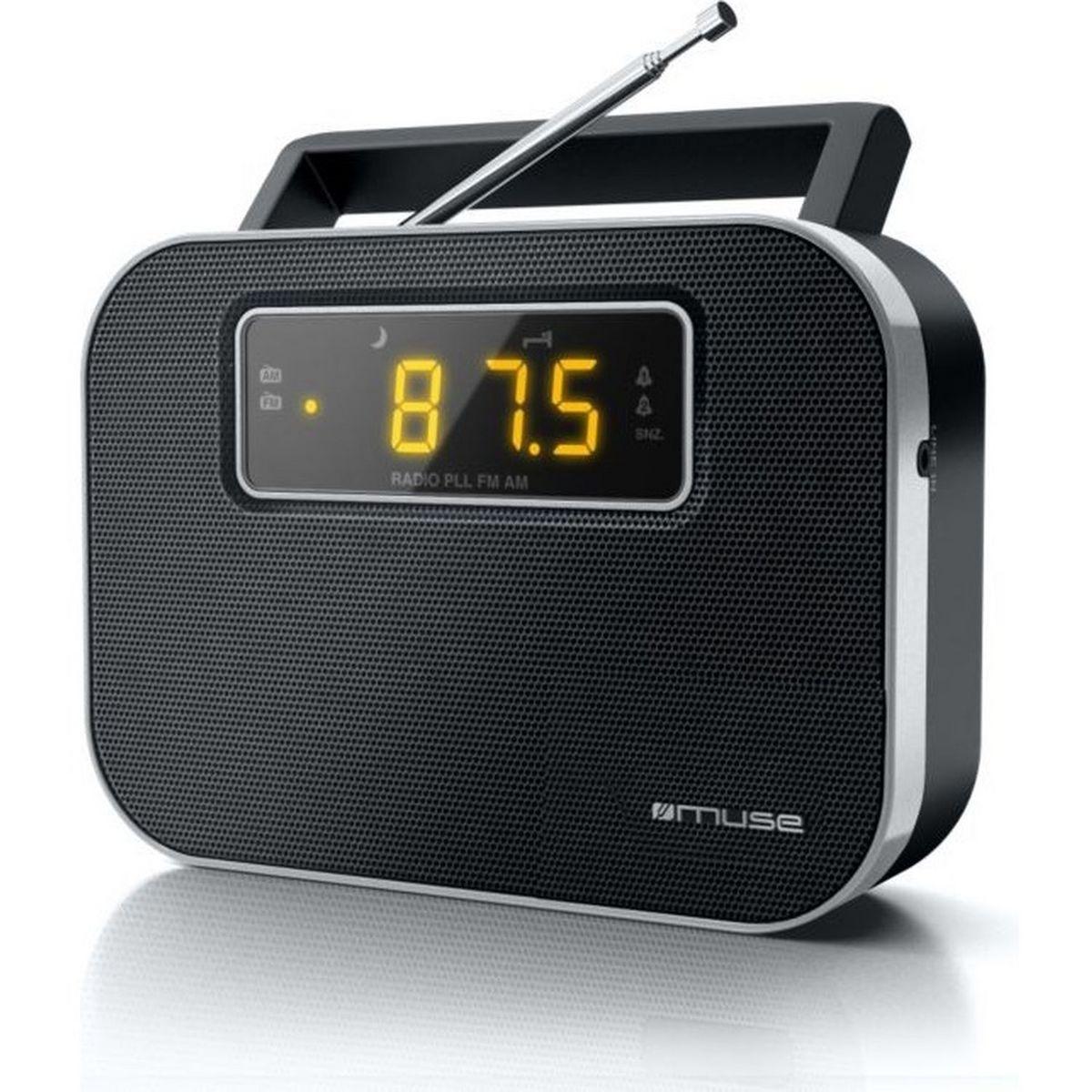 Radio portable - Noir - M-081 R