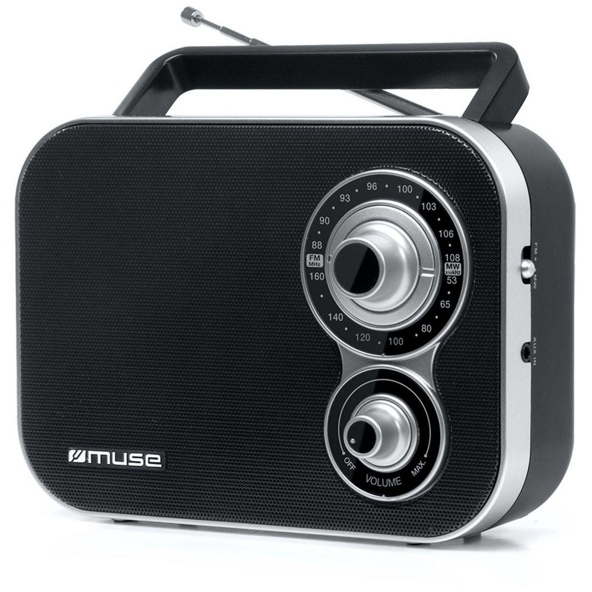 Radio portable - Noir - M-051 R