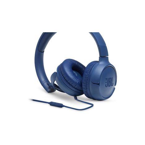 JBL Tune500 - Bleu - Casque audio filaire