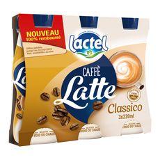 LACTEL Lactel café au lait classic 3x220ml
