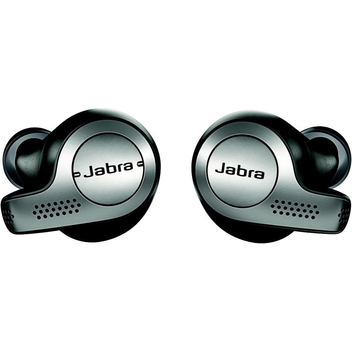 Écouteurs sans fil Bluetooth avec étui de recharge - Titanium Noir - Elite 65T