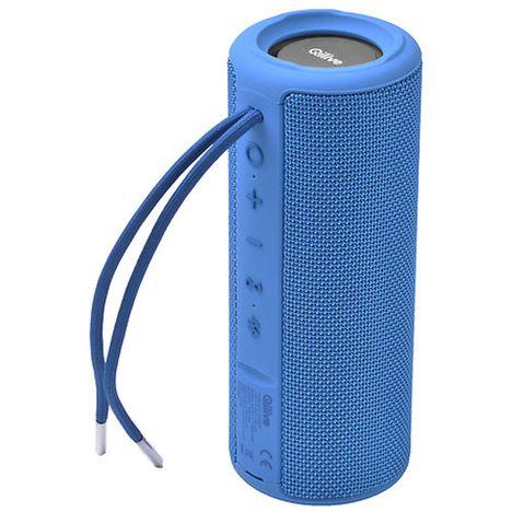 QILIVE Enceinte portable - Bluetooth - Bleu - Q1530