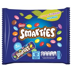 Smarties Tube hexagonal x5 - 190g
