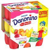 Danone Danonino fruits panachés 18x50g offre découverte