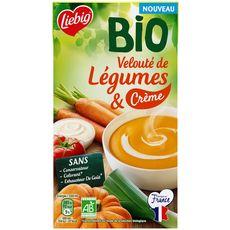 Liebig velouté de légumes et crème 1l