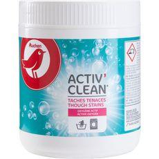 AUCHAN Activ' Clean poudre détachante à l'oxygène actif 500g