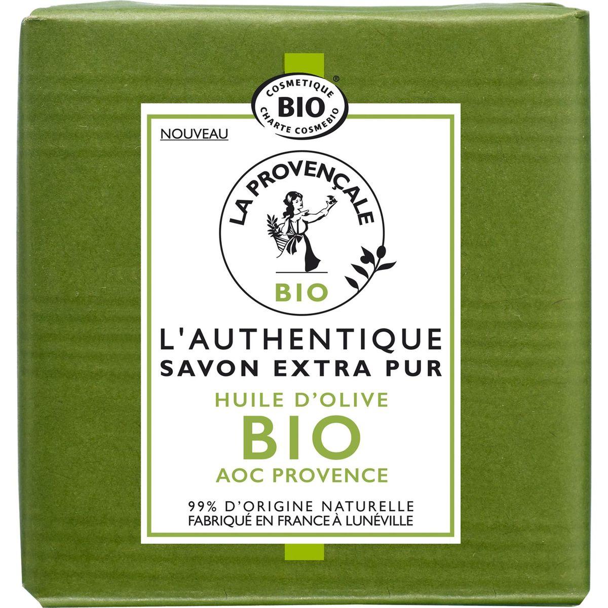 La Provençale bio authentique savon extra pur 100g