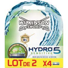 WILKINSON Wilkinson Hydro 5 Sensitive recharges lames de rasoir x8 8 recharges