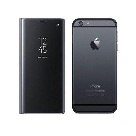 MOXIE Etui folio pour iPhone 6S/6 -  Noir transparent