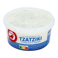 AUCHAN Tzatziki fromage frais et concombre 200g