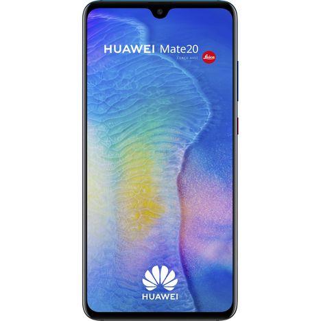 HUAWEI Smartphone - Mate 20 - 128 Go - 6.53 pouces - Twilight - Double SIM - 4G