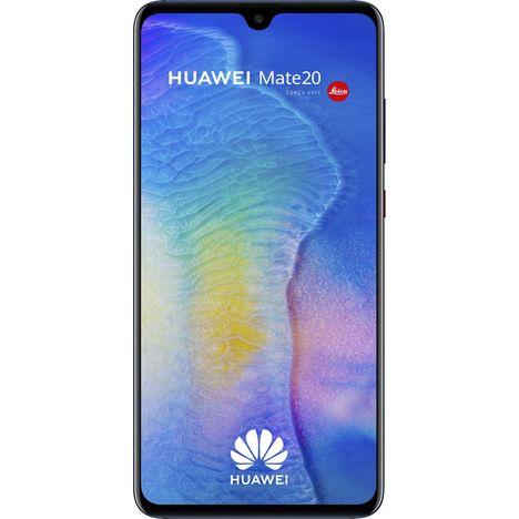HUAWEI Smartphone - Mate 20 - 128 Go - 6.53 pouces - Bleu - Double SIM - 4G