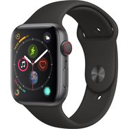 APPLE Montre connectée - Watch Séries 4 GPS + Cellular - Étanche - Aluminium - Ecran 44 mm