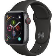 APPLE Montre connectée - Watch Series 4 - GPS + Cellular - Etanche - Aluminium et Noir - Ecran 40mm