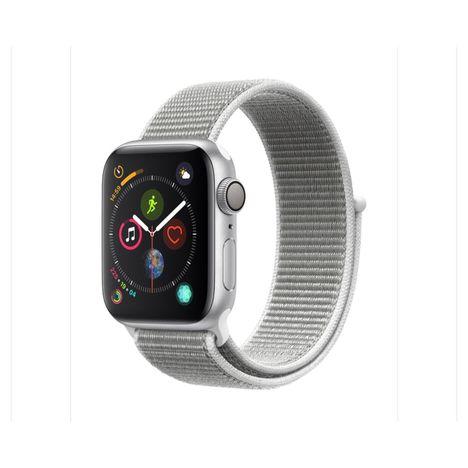 APPLE Montre connectée - Watch Series 4 - GPS - Etanche - Aluminium et Argent - Ecran 40mm