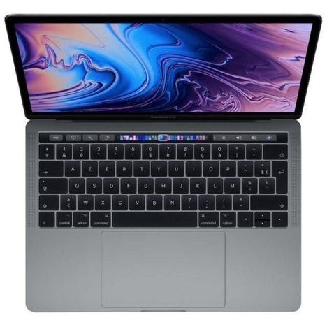APPLE Ordinateur portable MacBook Pro MR9Q2FN/A - 256 Go - 13.3 pouces - Gris Sidéral