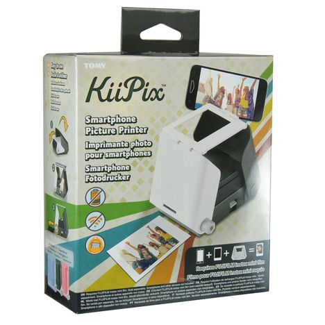 TOMY Scanner photo portable -  KiiPiX - Noir