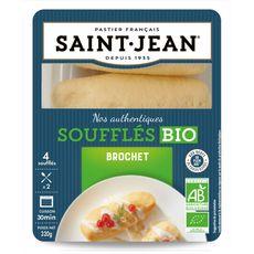 St Jean soufflés au brochet bio 4x80g