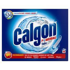CALGON Tablettes nettoyantes lave-linge 48 lavages 48 tablettes