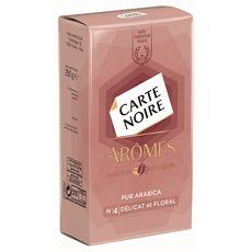 CARTE NOIRE Carte Noire arôme délicat n°4 -250g