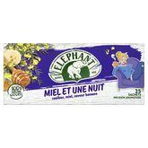 Lipton Elephant infusion miel et une nuit sachet x25 -40g